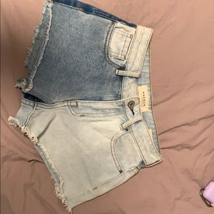 High rise PacSun shorts size 22
